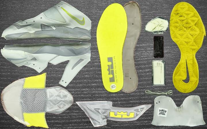 Sneaker Anatomy Nike Zoom Soldier Vii Gets Torn In Pieces Nike