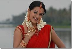 bhavana in halfsaree