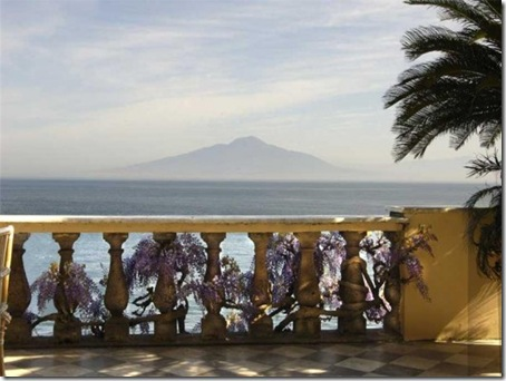 View from Sorrento villa