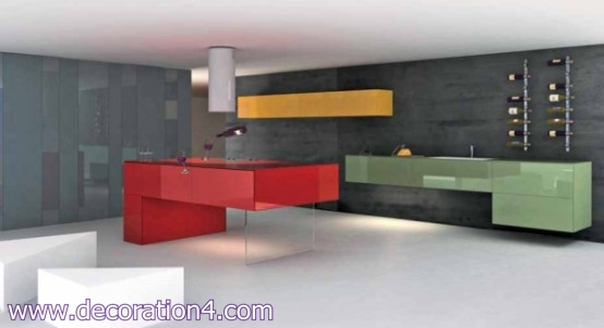 Italian Kitchen Layout Ideas-Modern design-2013