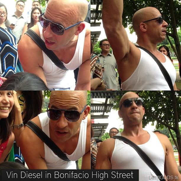 Vin Diesel in Manila