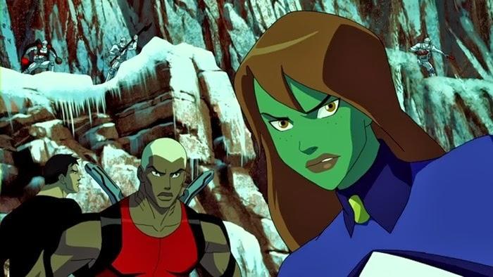 Young.Justice.S01E25 - Superboy,Vízilény, M'gann