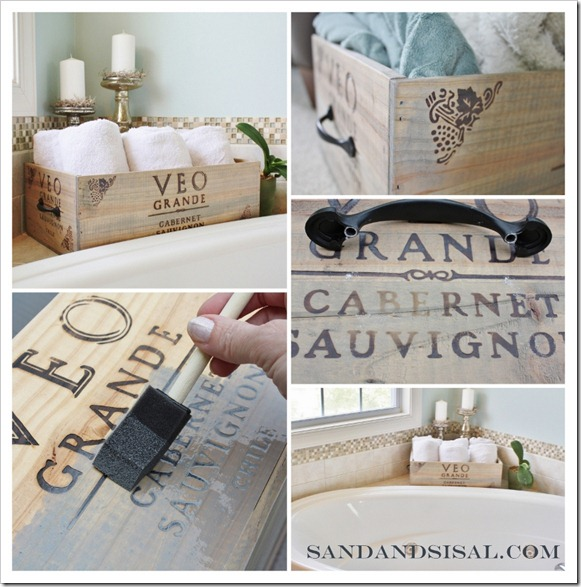 wine crate storage box, how to make a wine crate storage box