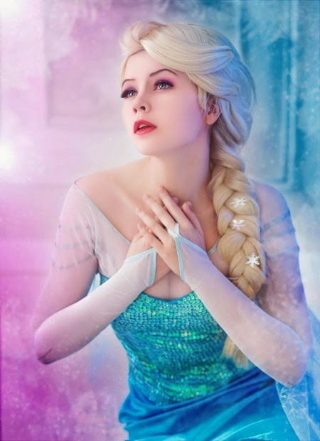Frozen Elsa Cosplay by Asami Gate - Photographed by Julia Filimonova