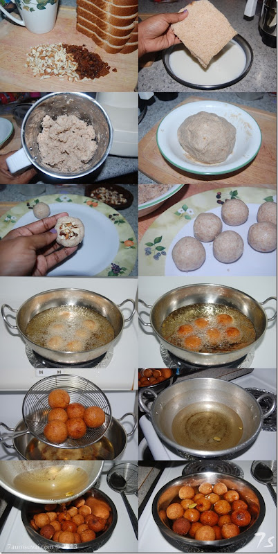 Bread jamun process