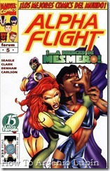 P00005 - Alpha Flight nº005  howto