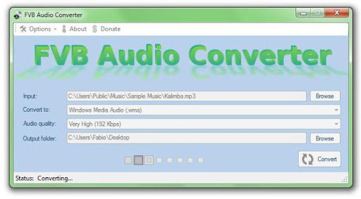 Descargar FVB Audio Converter gratis
