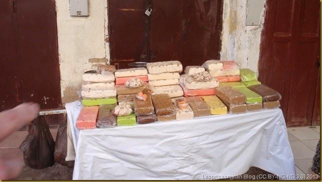 En Marruecos se come diferentes tipos de turrón