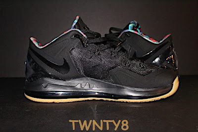 nike lebron 11 low gr black hyper crimson 3 02 Detailed Look at the Nike LeBron 11 Low Neutral