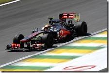 Hamilton conquista la pole del gran premio del Brasile 2012
