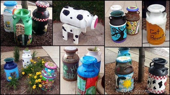 Milk Can Art