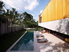 piscina de diseño moderno