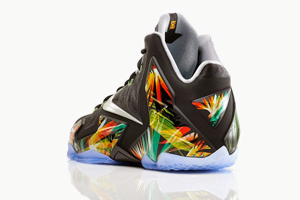 This Floral LeBron 11 is Indeed Called Everglades Drops in May