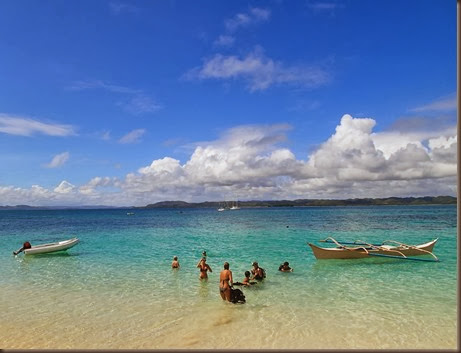 siargao island phillippines secluded beach