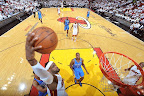 lebron james nba 120621 mia vs okc 061 game 5 chapmions Gallery: LeBron James Triple Double Carries Heat to NBA Title