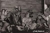 14.10.1978.  Ter gelegenheid van de opening van de nieuwbouw (lokaal groep 1 en 't Trefpunt) voeren de leerlingen een musical op (3)