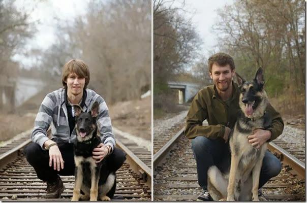 Antes e Depois de Animais de Estimação (8)