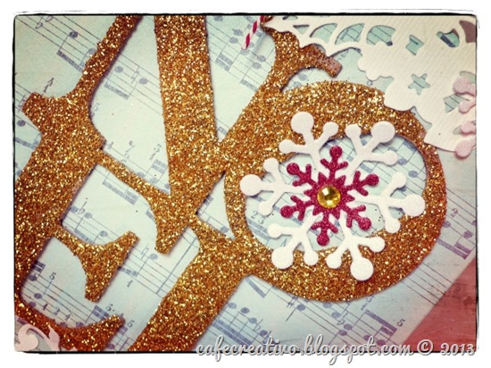 cafe creativo - Anna Drai - sizzix big shot - christmas - decorazione natale