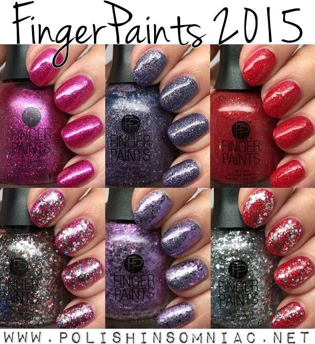 FingerPaints 2015 Swatches ♥ Part One