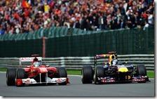 Vettel suepra Alonso nel gran premio del Belgio 2011