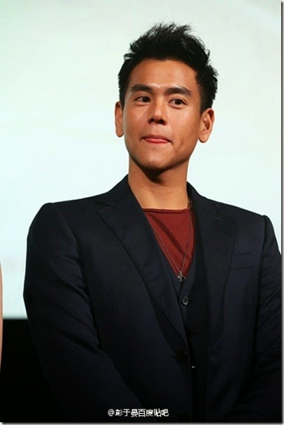 Fleet of Time 匆匆那年 Eddie Peng 彭于晏 2014.12.05 ShangHai 01