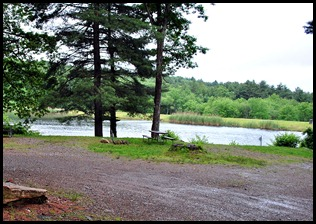 16 - View from Dinette, Wilderness Lake CG, Willington, CT