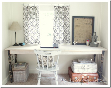 Shabby Chic Cottage Office