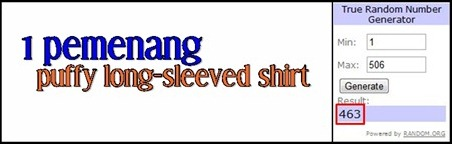 puffy shirt