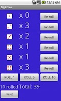 Screenshot of Unlimited Dice Pro