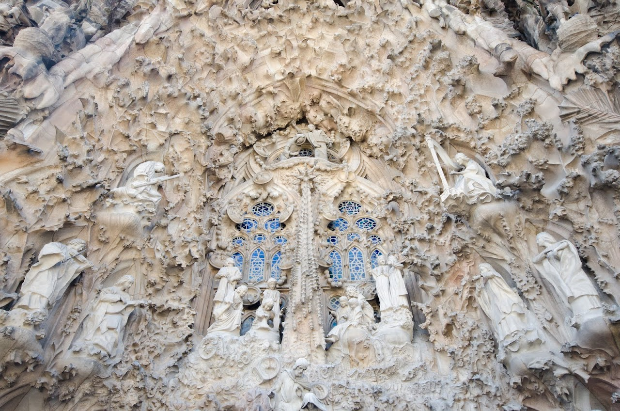 Sagrada Familia Nativity scene