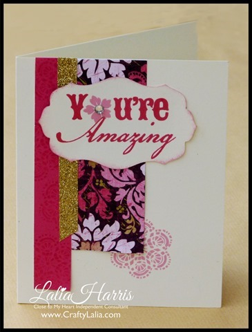 "Ivy Lane Card WOTG bonus card ""You're Amazing"" by Lalia Harris"