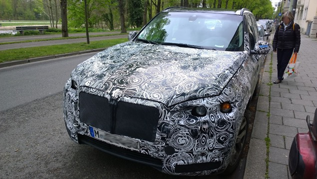 Is This The 2017 BMW X7 OrJust An X5 Prototype