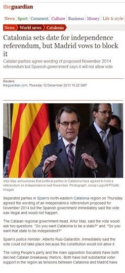 referèndum en Catalonha The Guardians