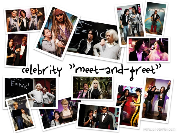 celebrity meet-and-greet