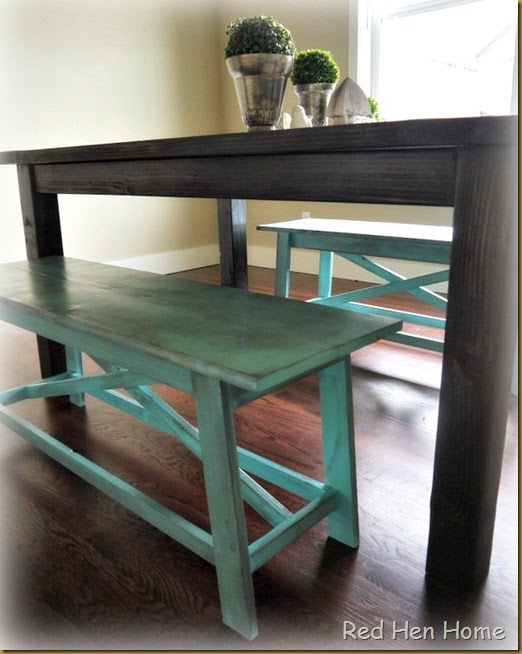 Kim's Farmhouse Table 003