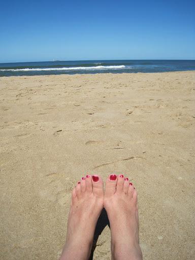 Beachtime on Punta del Este.