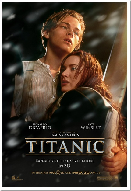 Titanic 3D é adiado