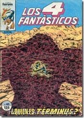 P00046 - Los 4 Fantásticos v1 #45