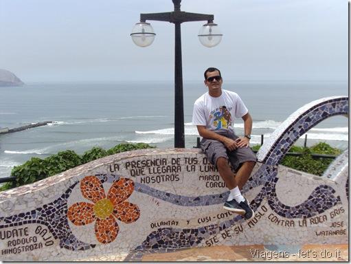Parque do Amor, no bairro Miraflores - Lima