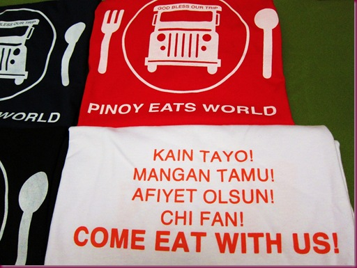 pinoy eats world