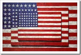 Three Flags Jasper Johns