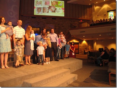 1.  Knox's Baby Dedication