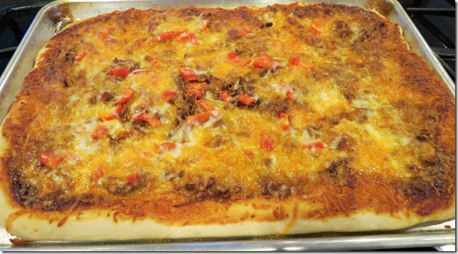 BBQ Pulled Pork Pizza 3