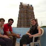 Notre terrasse au shree Devi Hotel