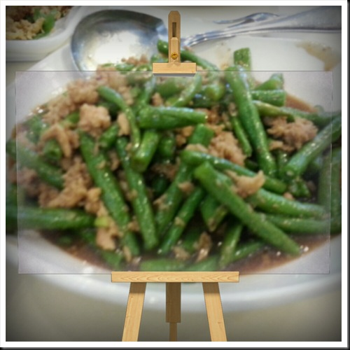 Stir Fried Long Beans - RM12