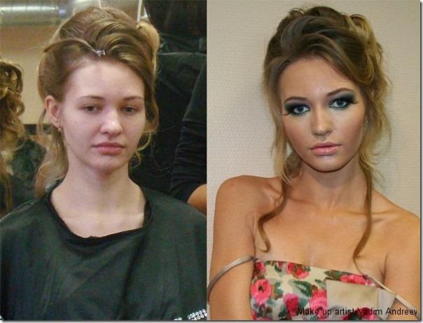 A mágica da maquiagem (2)