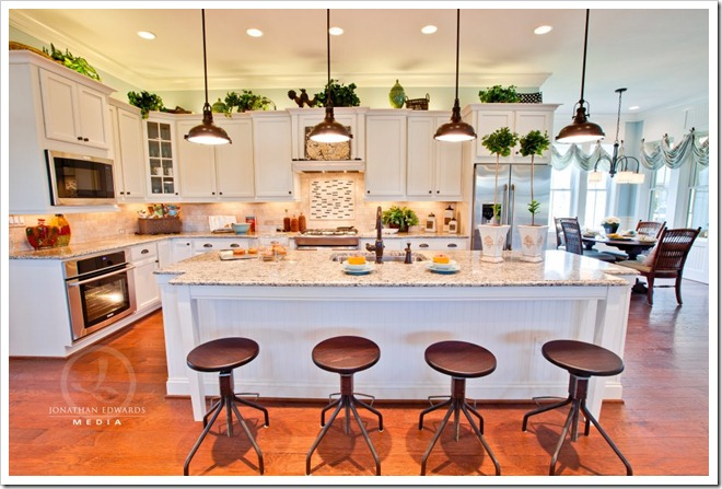 kitchen -Decorating a Dream Home - www.sandandsisal.com