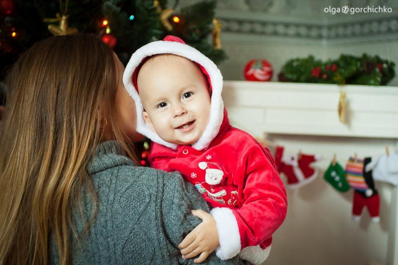 Детский новогодний фотопроект Рождественские мечты. 32. Никита 1 год (Ольга)-18