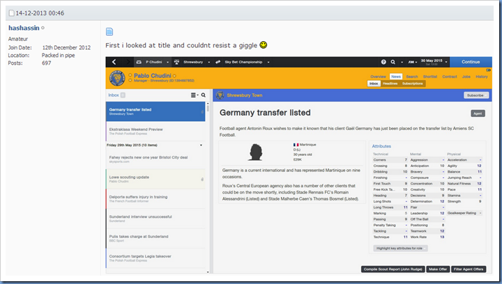 Germany transfer listed