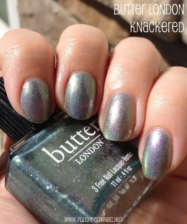 butter LONDON Knackered 2